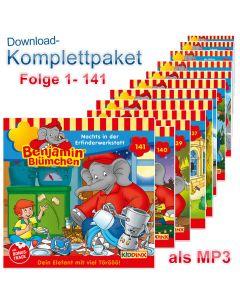 Benjamin Blümchen: 141er MP3-Komplett-Box (Folge 1-141)
