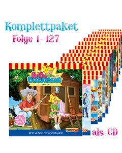 Bibi Blocksberg: 127er Komplett CD-Box (Folge 1 - 127)