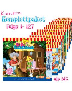 Bibi Blocksberg: 127er Komplett MC-Box (Folge 1 - 127)