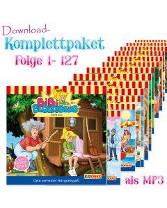 Bibi Blocksberg: 127er MP3-Komplett-Box (Folgen 1-127)