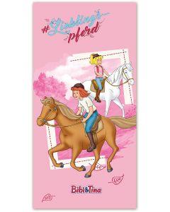 Bibi & Tina: Strand- / Badetuch Lieblingspferd
