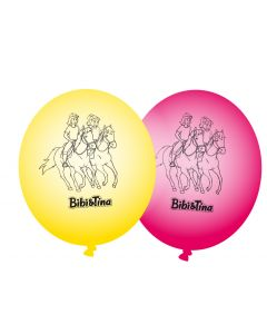 Bibi & Tina: 8 Luftballons (Party-Dekoration)