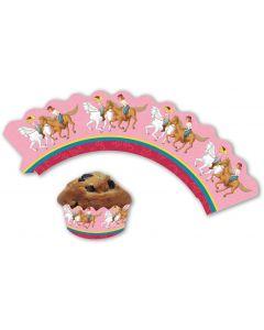 Bibi & Tina: Cupcake Deko-Banderolen