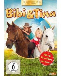 Bibi & Tina: 4er Video-Box Kinofilm