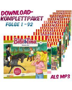 Bibi & Tina: 92er MP3-Komplett-Box (Folge 1-92)