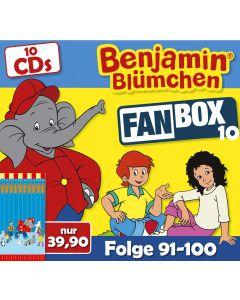 Benjamin Blümchen 10er CD-Box 10 (Folge 91 - 100)