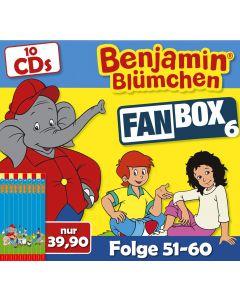 Benjamin Blümchen 10er CD-Box 6 (Folge 51 - 60)