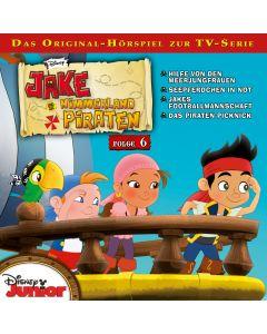 Jake und die Nimmerland-Piraten: Hilfe von den Meerjungfrauen / .. (Folge 6)
