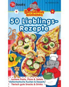 Benjamin Blümchen: 50 Lieblings-Rezepte (Kochbuch MFI)