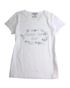 Bibi Blocksberg: Comic-Shirt mit weißem Strass (weiß)