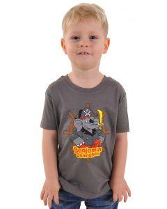 Benjamin Blümchen: T-Shirt Pirat (grau)