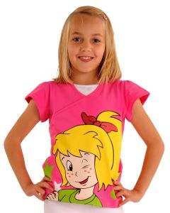 Bibi Blocksberg: Girlie T-Shirt mit Glitzer (pink)