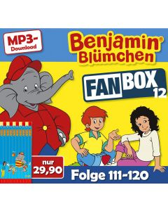 Benjamin Blümchen: 10er MP3-Box 12 (Folge 111 - 120)