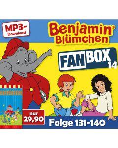 Benjamin Blümchen: 10er MP3-Box 14 (Folge 131 - 140)