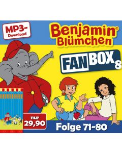 Benjamin Blümchen: 10er MP3-Box 8 (Folge 71 - 80)