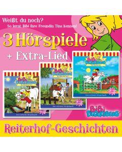 Bibi Blocksberg: 3er MP3-Box Reiterhof-Geschichten