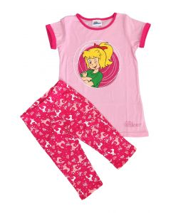 Bibi Blocksberg: Set Shirt + Caprileggins (rosa)