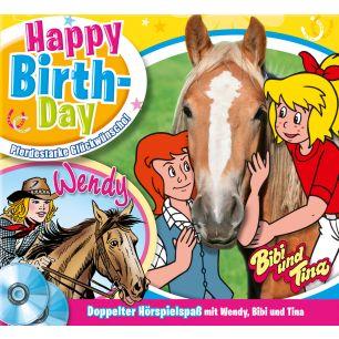 Wendy: 2er MP3-Box Happy Birthday mit Bibi & Tina