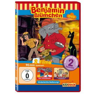 Benjamin Blümchen Die Zirkuslöwen / und das Geheimnis der Tempelkatze