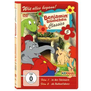 Benjamin Blümchen als Ballonfahrer / in der Steinzeit Classics Folge 5