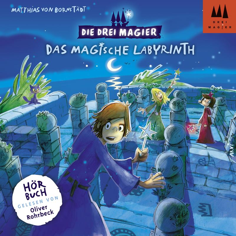 Die Drei Magier: Hörbuch Das magische Labyrinth...