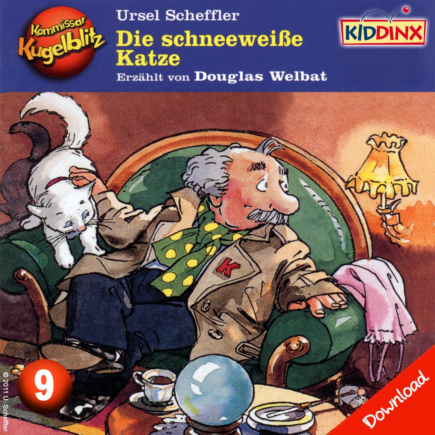 Kommissar Kugelblitz: Die schneeweiße Katze (Folge 9)