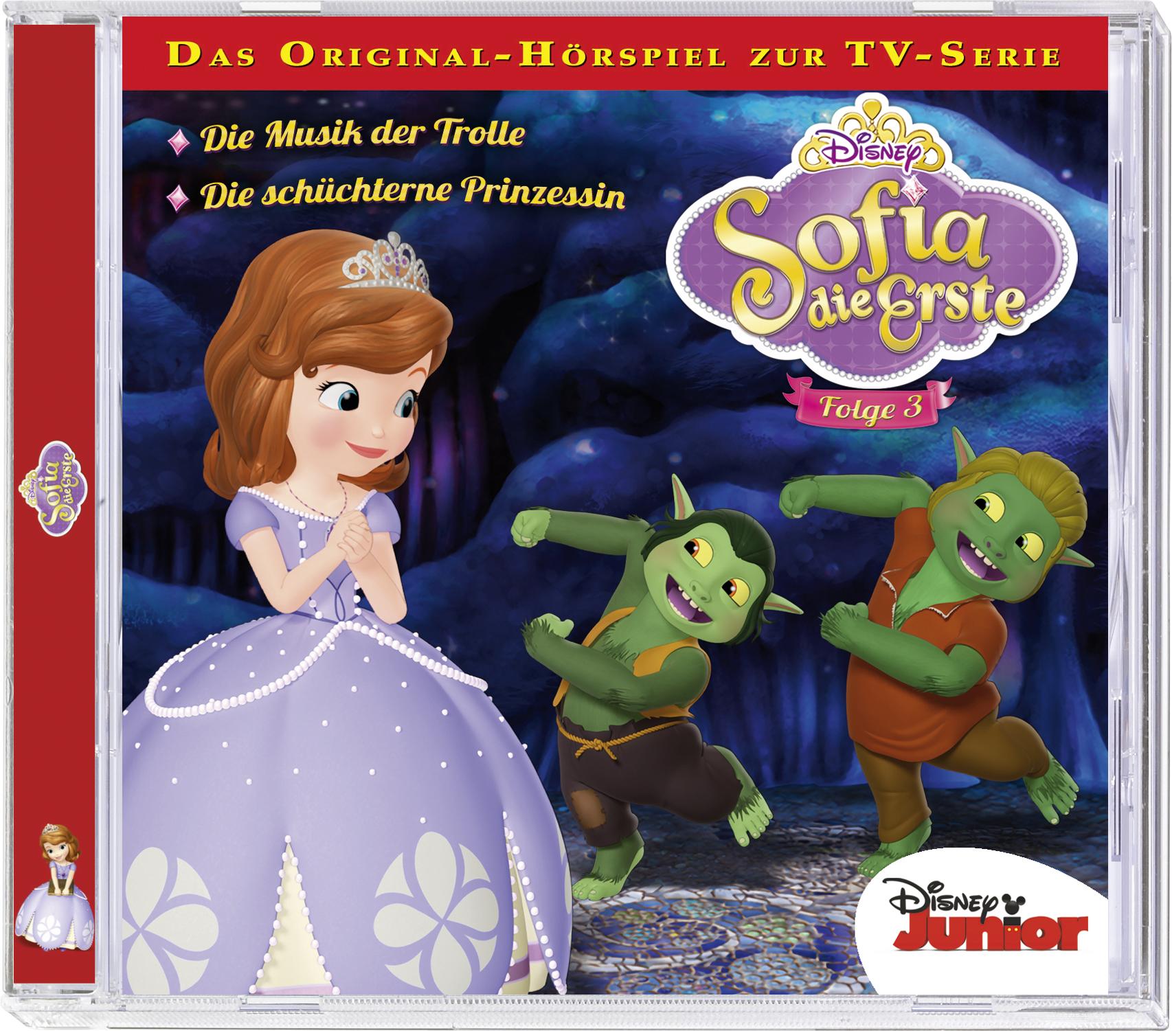 Sofia die Erste: Die Musik der Trolle / .. (Fol...