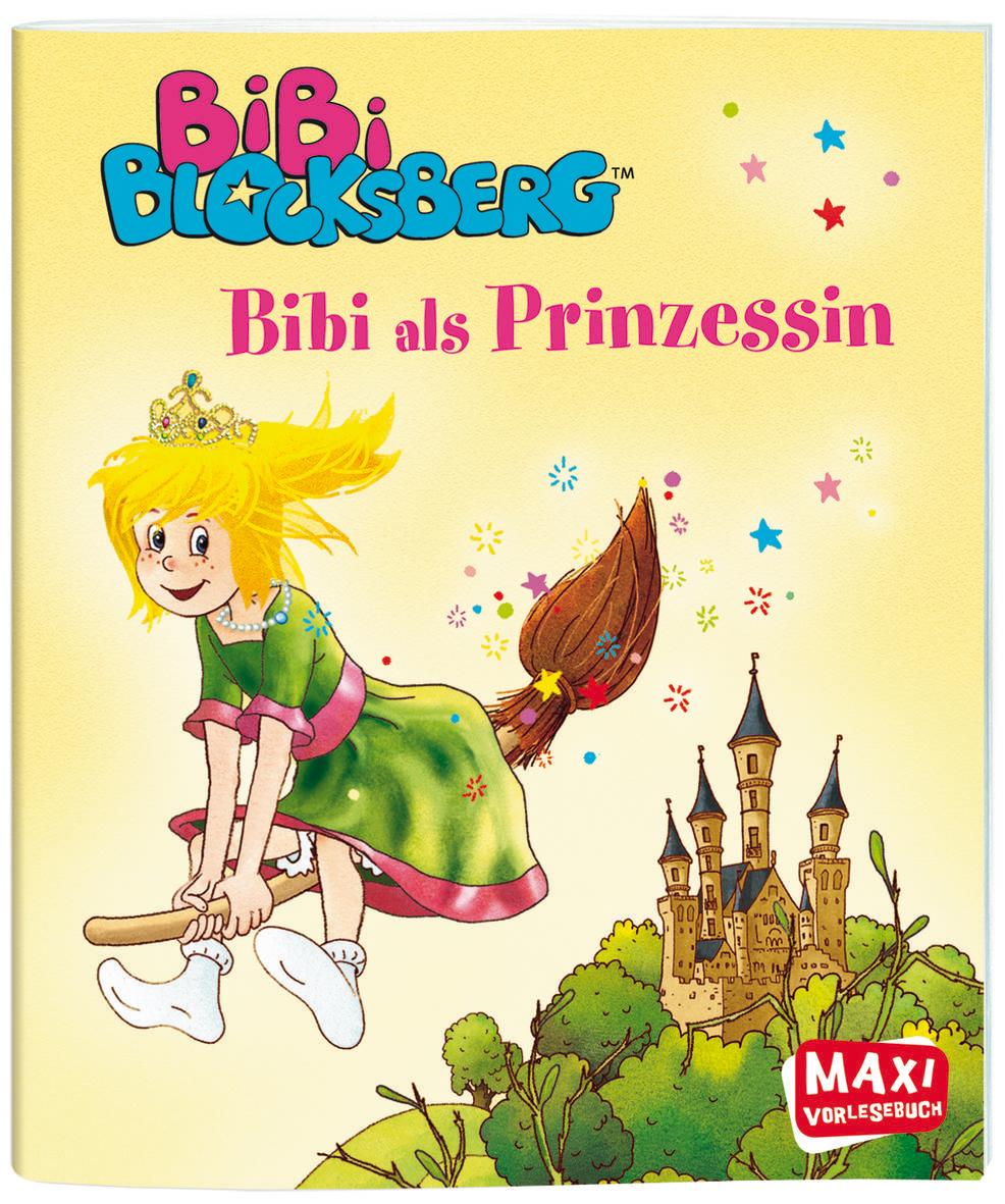 Bibi Blocksberg: Bibi als Prinzessin (Maxi-Bilderbuch)